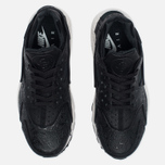 Женские кроссовки Nike Air Huarache Run Premium Black/Light Bone/Dark Grey фото- 4
