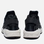 Женские кроссовки Nike Air Huarache Run Premium Black/Light Bone/Dark Grey фото- 5