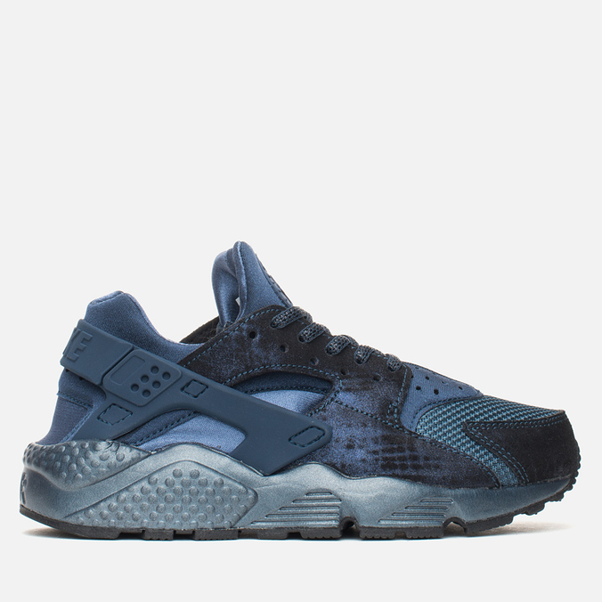 Женские кроссовки Nike Air Huarache Run Premium Metallic Navy
