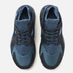 Женские кроссовки Nike Air Huarache Run Premium Metallic Navy фото- 4
