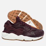 Женские кроссовки Nike Air Huarache Run Premium Night Maroon/Sail фото- 1