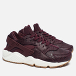 Женские кроссовки Nike Air Huarache Run Premium Night Maroon/Sail фото- 2