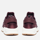 Женские кроссовки Nike Air Huarache Run Premium Night Maroon/Sail фото- 5