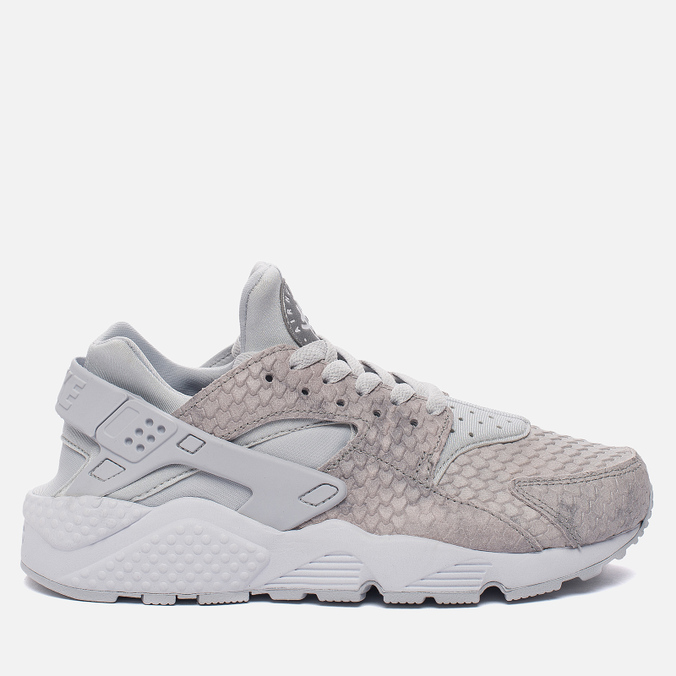 Женские кроссовки Nike Air Huarache Run Premium Pure Platinum/Pure Platinum/White/Metallic Silver