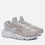 Женские кроссовки Nike Air Huarache Run Premium Pure Platinum/Pure Platinum/White/Metallic Silver фото- 1