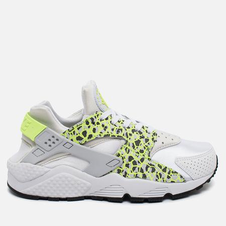 Женские кроссовки Nike Air Huarache Run Premium White/Ghost Green/Pure Platinum