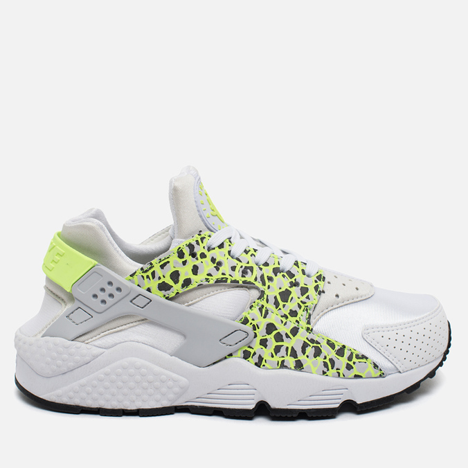 Женские кроссовки Nike Air Huarache Run Premium White/Ghost Green/Pure Platinum