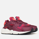 Женские кроссовки Nike Air Huarache Run Print Deep Garnet/Bright Crimson фото- 1