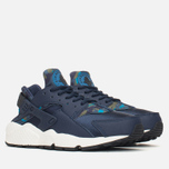 Женские кроссовки Nike Air Huarache Run Print Obsidian/Black Sail фото- 1