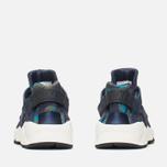 Nike Air Huarache Run Print Women's Sneakers Obsidian/Black Sail photo- 3