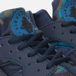Nike Air Huarache Run Print Women's Sneakers Obsidian/Black Sail photo- 5