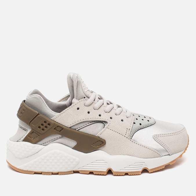 Женские кроссовки Nike Air Huarache Run PRM Suede Gamma Grey/Phantom