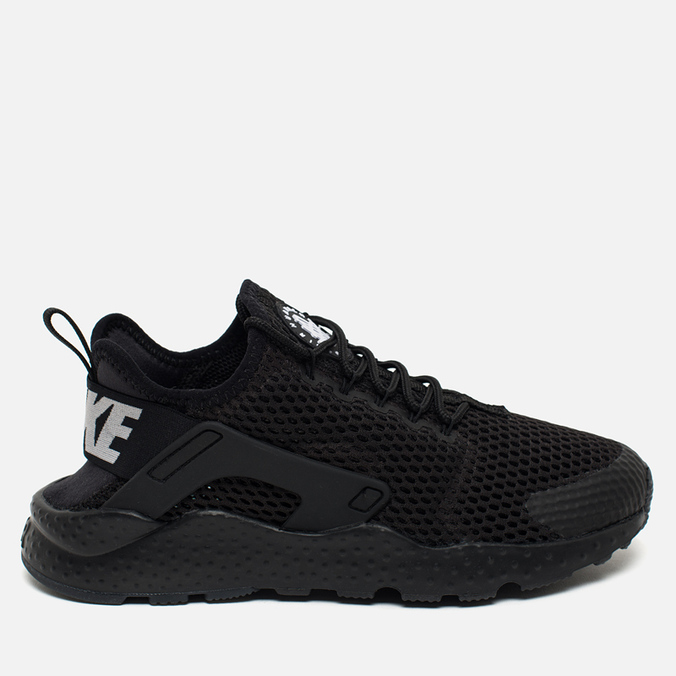 Женские кроссовки Nike Air Huarache Run Ultra BR Black/Black