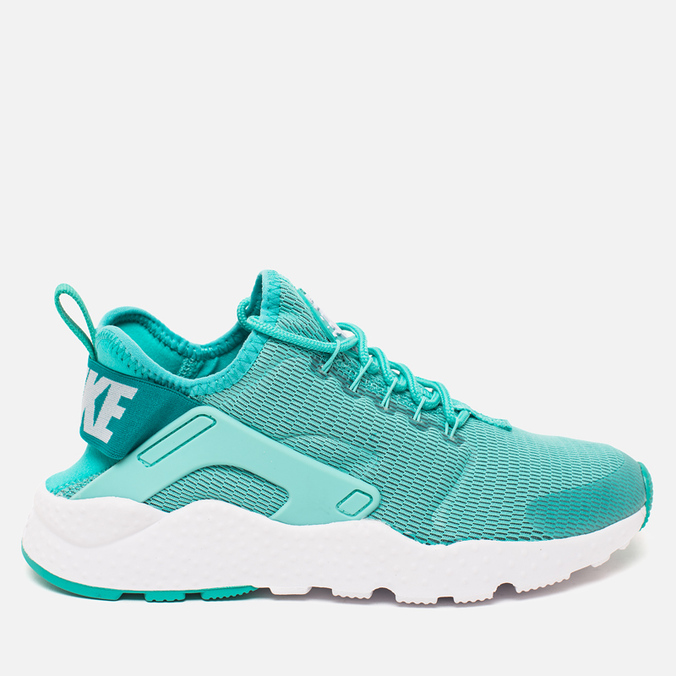 Женские кроссовки Nike Air Huarache Run Ultra Hyper Turquoise/White
