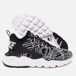 Женские кроссовки Nike Air Huarache Run Ultra Jacquard Black/White фото- 2