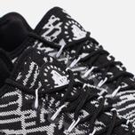 Nike Air Huarache Run Ultra Jacquard Women's Sneakers Black/White photo- 5