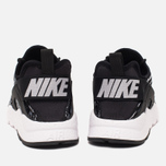 Nike Air Huarache Run Ultra Jacquard Women's Sneakers Black/White photo- 3