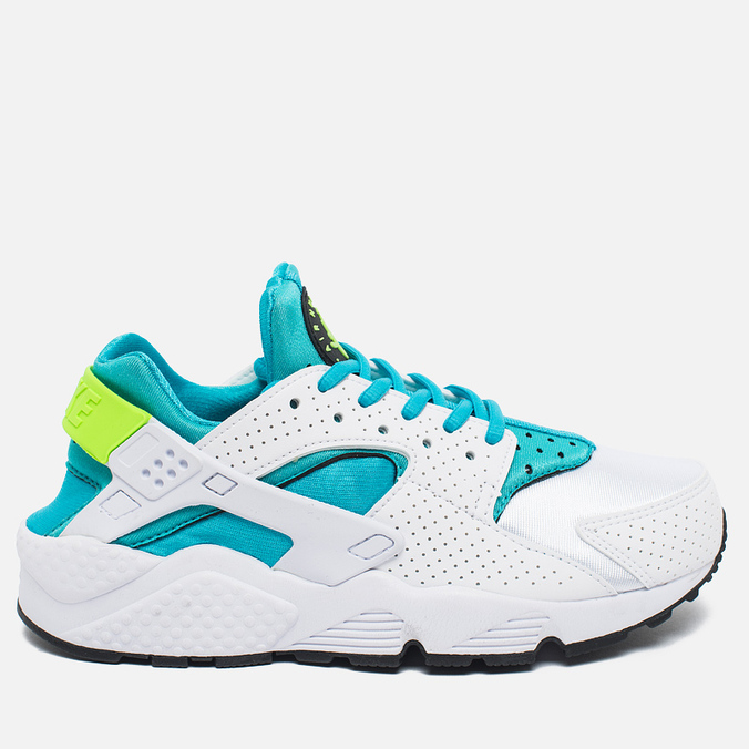 Женские кроссовки Nike Air Huarache White/Gamma Blue