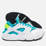 Nike Air Huarache Women's Sneakers White/Gamma Blue photo- 2