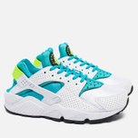Nike Air Huarache Women's Sneakers White/Gamma Blue photo- 1