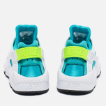 Женские кроссовки Nike Air Huarache White/Gamma Blue фото- 3