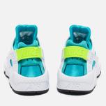 Nike Air Huarache Women's Sneakers White/Gamma Blue photo- 3