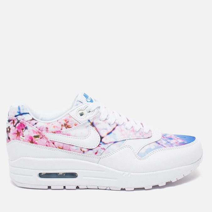Женские кроссовки Nike Air Max 1 Cherry Blossom Pack White/University Blue