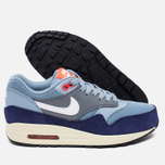 Женские кроссовки Nike Air Max 1 Essential Blue Grey/Bright Crimson/Loyal Blue/White фото- 2