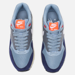 Женские кроссовки Nike Air Max 1 Essential Blue Grey/Bright Crimson/Loyal Blue/White фото- 4