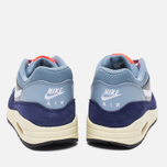Женские кроссовки Nike Air Max 1 Essential Blue Grey/Bright Crimson/Loyal Blue/White фото- 3