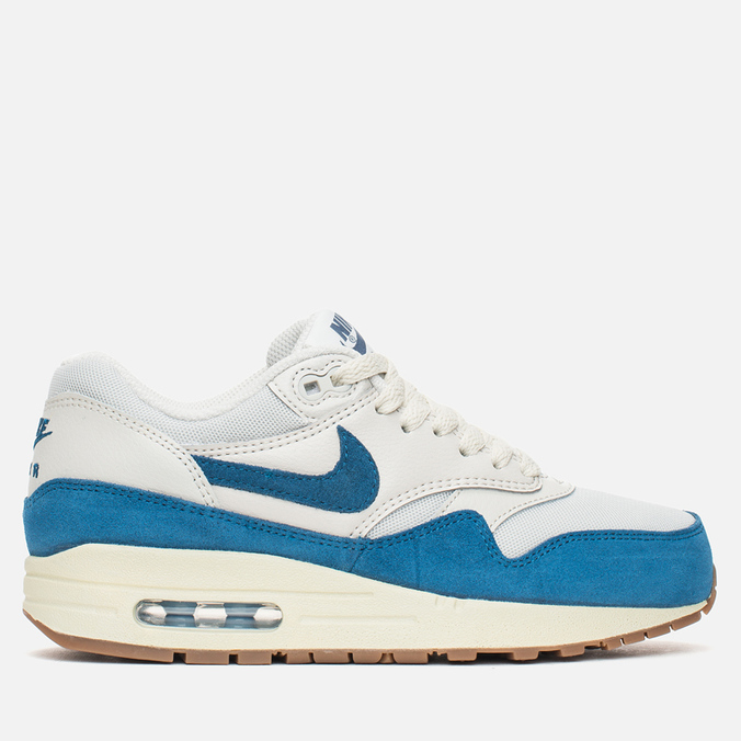 Женские кроссовки Nike Air Max 1 Essential Light Bone/Brigade Blue