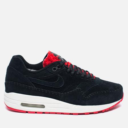Женские кроссовки Nike Air Max 1 Premium Sherpa Pack Black/Red
