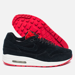 Женские кроссовки Nike Air Max 1 Premium Sherpa Pack Black/Red фото- 2