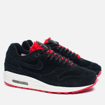 Женские кроссовки Nike Air Max 1 Premium Sherpa Pack Black/Red фото- 1
