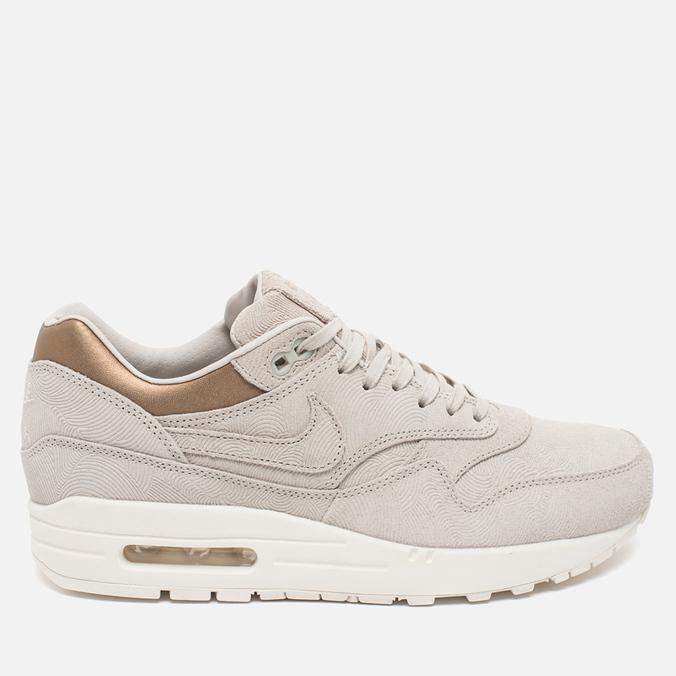 Женские кроссовки Nike Air Max 1 Premium Gamma Grey