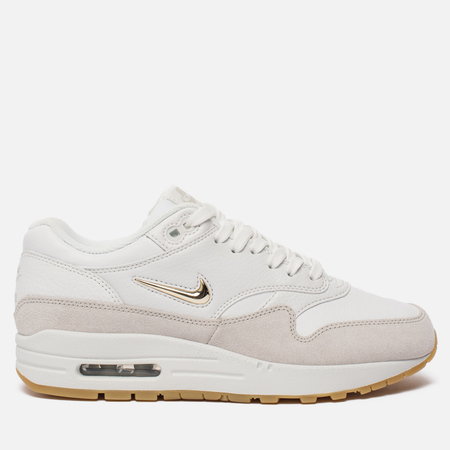 Женские кроссовки Nike Air Max 1 Premium SC Summit White/Metallic Gold Star/Light Bone