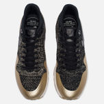 Женские кроссовки Nike Air Max 1 Ultra 2.0 Flyknit Metallic Black/Black/Metallic Gold Star фото- 4