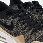 Женские кроссовки Nike Air Max 1 Ultra 2.0 Flyknit Metallic Black/Black/Metallic Gold Star фото- 5