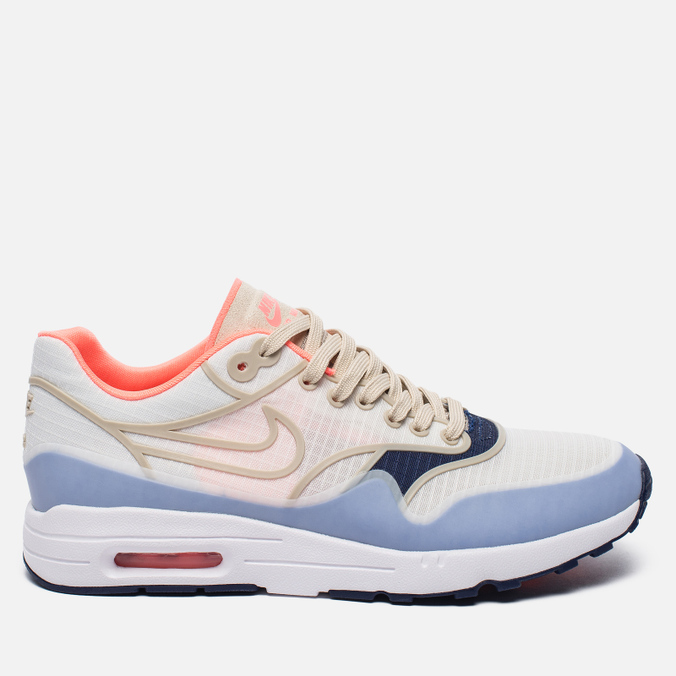 Женские кроссовки Nike Air Max 1 Ultra 2.0 SI Sail/Oatmeal/White/Lava Glow