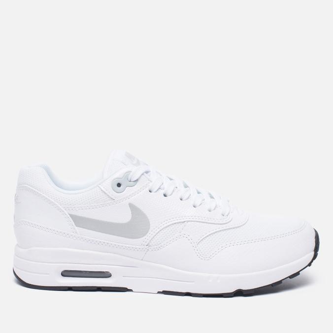 Женские кроссовки Nike Air Max 1 Ultra 2.0 White/Black/Metallic Platinum