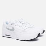 Женские кроссовки Nike Air Max 1 Ultra 2.0 White/Black/Metallic Platinum фото- 1