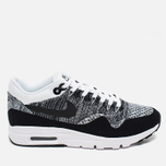 Женские кроссовки Nike Air Max 1 Ultra Flyknit White/Black фото- 0
