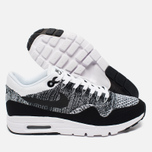 Женские кроссовки Nike Air Max 1 Ultra Flyknit White/Black фото- 2