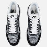 Женские кроссовки Nike Air Max 1 Ultra Flyknit White/Black фото- 4