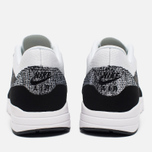 Женские кроссовки Nike Air Max 1 Ultra Flyknit White/Black фото- 3