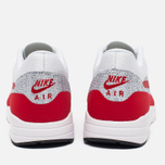 Женские кроссовки Nike Air Max 1 Ultra Flyknit White/University Red/Pure Platinum фото- 3