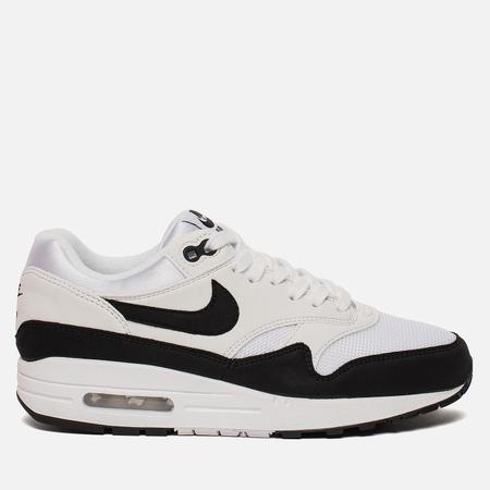 Женские кроссовки Nike Air Max 1 White/Black