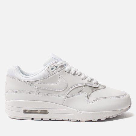 Женские кроссовки Nike Air Max 1 White/White/White