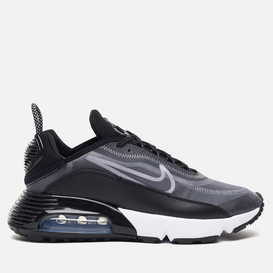 Женские кроссовки Nike Air Max 2090 Black/White/Metallic Silver