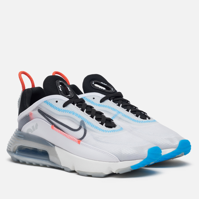 Женские кроссовки Nike Air Max 2090 White/Black/Pure Platinum/Bright Crimson